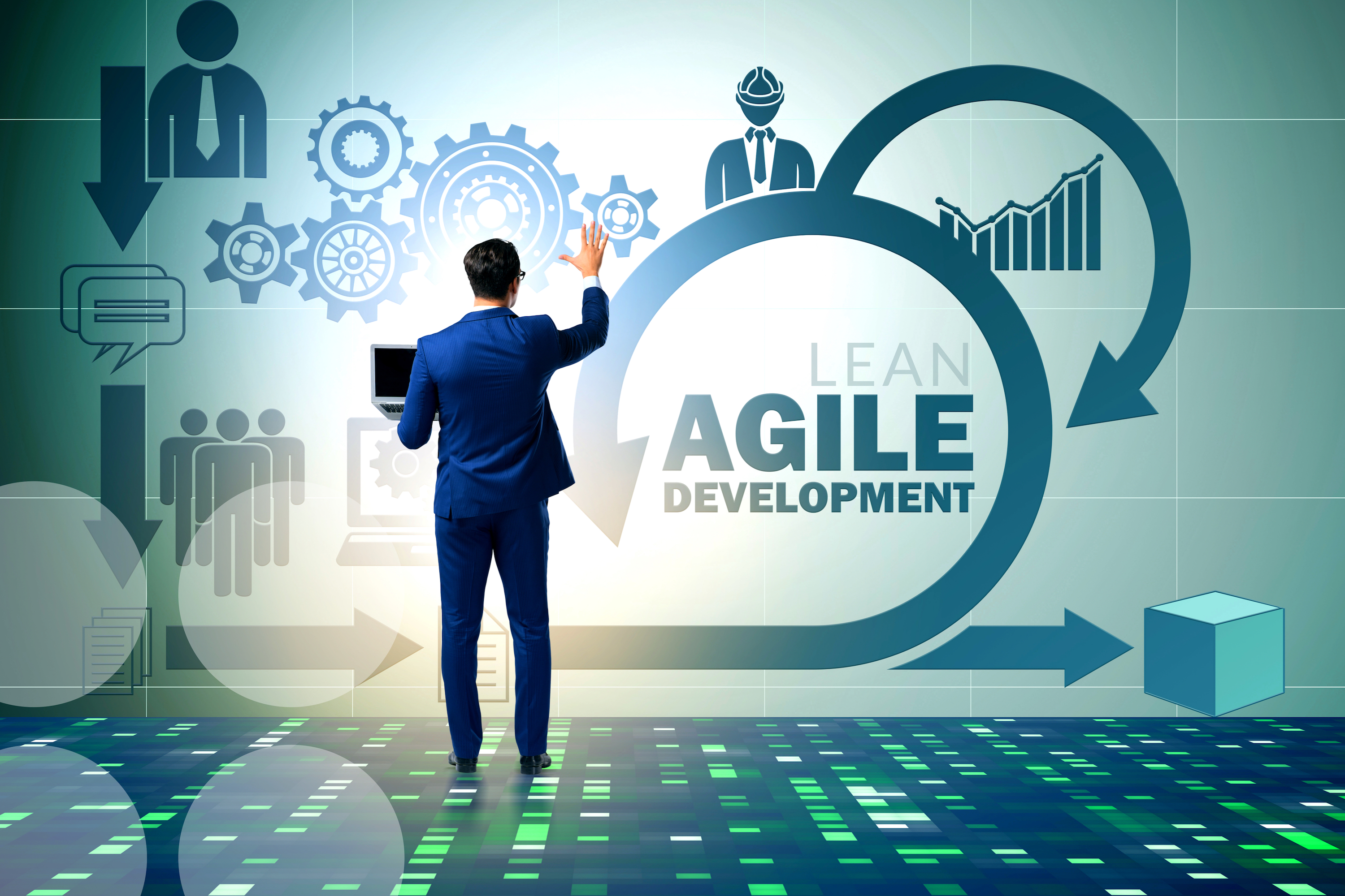 Using Lean Management in Building Agile Organizations